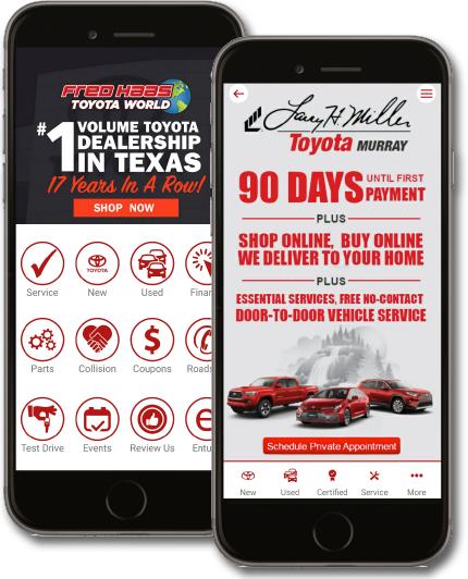 Auto Dealer Mobile Dealer App